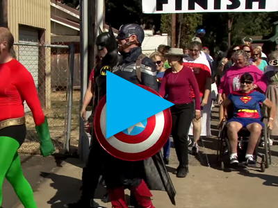 2015 Super Hero Half K Wine Dash